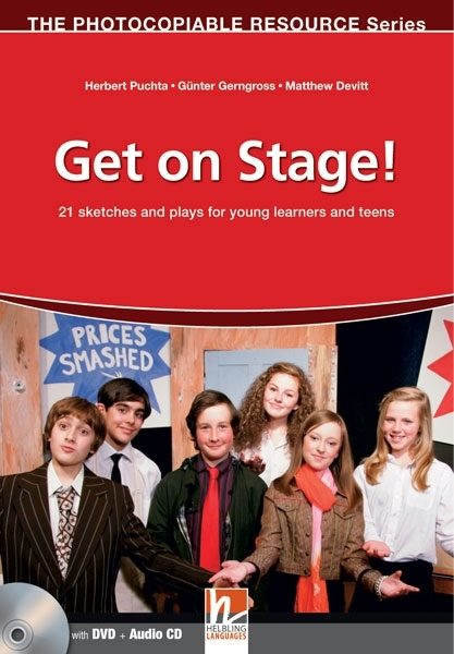 Get on Stage! (książka + DVD + Audio CD)