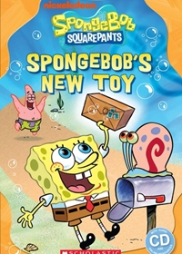SpongeBob: SpongeBob's New Toy. Reader + Audio CD (Poziom: Starter)