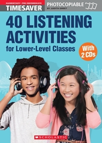 40 Listening Activities for Lower-Level Classes (książka + Audio CDs)