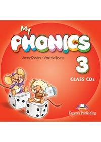 My Phonics 3: Long Vowels Class Audio CDs