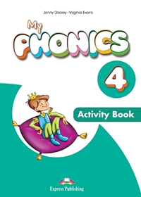 My Phonics 4: Consonant Blends Activity Book + Digi Material (Ćwiczenia)