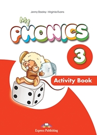 My Phonics 3: Long Vowels Activity Book + Digi Material (Ćwiczenia)