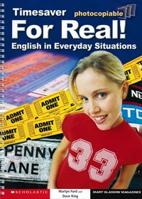 For Real! English in Everyday Situations (książka + Audio CD)