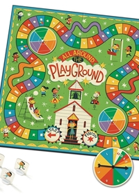 All Around The Playground Shapes, Colours and Counting Game