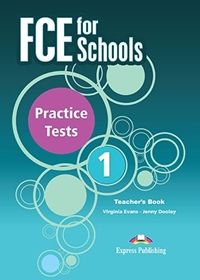 FCE for Schools 1 Practice Tests. Teacher's Book + kod DigiBook