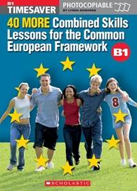 40 More Combined Skills Lessons for the CEFR B1 (książka + Audio CD)