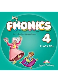 My Phonics 4: Consonant Blends Class Audio CDs