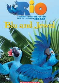 Rio: Blu and Jewel. Reader + Audio CD (Poziom 1)