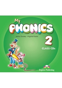 My Phonics 2: Short Vowels Class Audio CDs